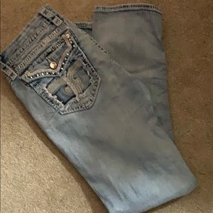 Rock and Revival Lily size 32 straight jeans OMG!